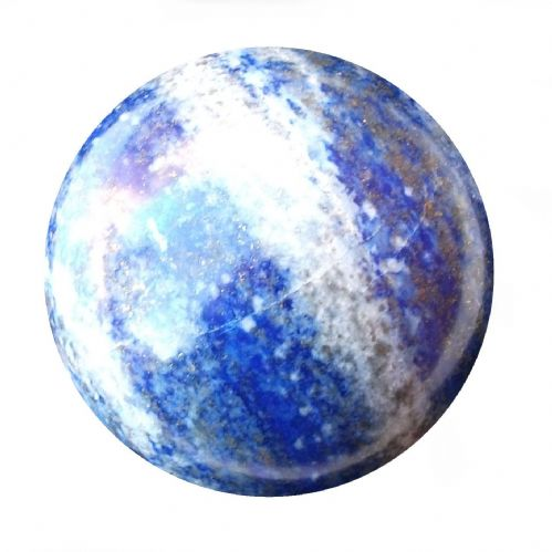 Lapis Lazuli Fortune Telling Ball Gemstone Crystal Sphere 55mm 280g (LB11)